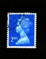 GREAT BRITAIN - 1989  MACHIN  2ndt  CB  QUESTA  FINE USED  SG 1451 - Machins