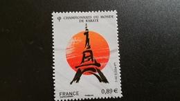 France Timbre NEUF  N°4681 - Année 2012 -  Championnat Du Monde De Karaté - France