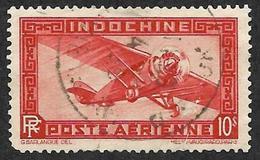 INDOCHINE    1933-38   -   PA   14 -  Oblitéré - Poste Aérienne