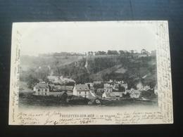 CPA 76 VEULETTES SUR MER - Le Village (f) - France