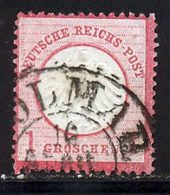 Allemagne Empire 1872 Yvert 4 (o) B Oblitere(s) - Allemagne