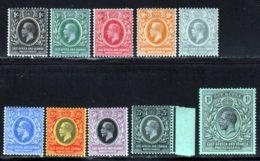 Afrique Orientale 1912 Yvert 133 / 142 * TB Charniere(s) - Kenya, Uganda & Tanganyika