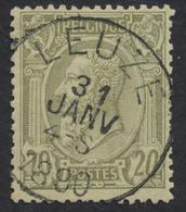 "émission 1884 - N°47 Obl Simple Cercle ""Leuze"". TB - 1884-1891 Léopold II"