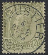 """émission 1884 - N°47 Obl Simple Cercle """"Moustier"""". TB - 1884-1891 Léopold II"""