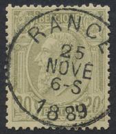 "émission 1884 - N°47 Obl Simple Cercle ""Rance"" - 1884-1891 Léopold II"