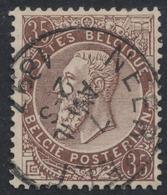 "émission 1884 - N°49 Obl Simple Cercle ""Neerpelt"" - 1884-1891 Léopold II"