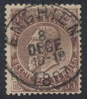 """émission 1884 - N°49 Obl Simple Cercle """"Enghien"""" - 1884-1891 Léopold II"""