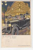La Bianchi In Europa - Cart.pubbl.- 1931 - Firmata Nanni          (A-106-170616) - Werbepostkarten