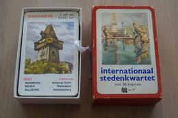 Speelkaarten - Kwartet, Internatinaal Stedenkwartet, Nr 17, Jumbo , *** - - Cartes à Jouer Classiques