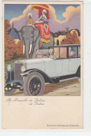 La Bianchi In India - Cart.pubbl.- 1929 - Firmata Nanni          (A-106-170616) - Pubblicitari
