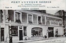 France - 14 - Pont-l'Evêque - Pont-l'Évêque Garage - Agence Citroën - 2Pompes à Essence - Pont-l'Evèque