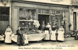 France - 95 - Pontoise - Maison Dieudonné -  Robigault - Beurre , Oeufs , Fromages - Rue Thiers - Pontoise