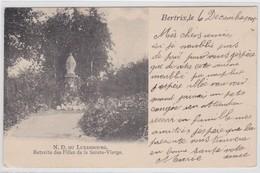 BERTRIX-N.D. DU LUXEMBOURG-RETRAITE DES FILLES DE LA SAINTE VIERGE-CARTE ENVOYEE -1905-VOYEZ LES 2 SCANS-TOP+ RARE! ! ! - Bertrix