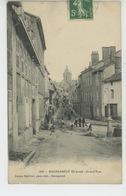 BOURGANEUF - Grand'Rue (animation Travaux De Voirie Pavage De La Rue ) - Bourganeuf