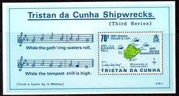 Tristan Da Cunha 1987 Shipwrecks III MS, MNH, SG 429 - Tristan Da Cunha