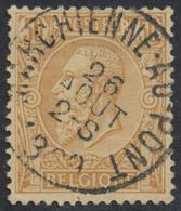 """émission 1884 - N°50 Obl Simple Cercle """"Marchienne-au-pont"""". TB - 1884-1891 Léopold II"""