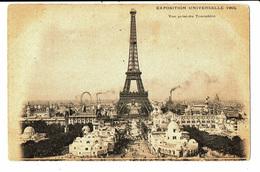 CPA- Carte Postale -FRANCE- Paris Exposition Universelle-1900-Vue Prise Du Trocadero - VM5119 - Expositions