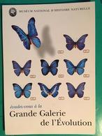 """CPM, Muséum D'Histoire Naturelle, Publicité """" évadez Vous à La Grande Galerie De L'Evolution"""",Jardin Des Plantes, Paris - Museum"""