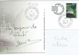 13050  PAP  55é Anniversaire Du Port De PAPEETE  - TAHITI - POLYNÉSIE FRANÇAISE - Lettres & Documents
