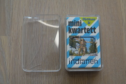 Speelkaarten - Kwartet, MINI KWARTET - Indianen, Pelikan, *** - - Cartes à Jouer Classiques