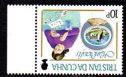 Tristan Da Cunha 1988 Handicrafts 10p Value, Watermark Inverted, MNH, SG 448w - Tristan Da Cunha