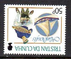 Tristan Da Cunha 1988 Handicrafts 50p Value, Watermark Inverted, MNH, SG 451w - Tristan Da Cunha