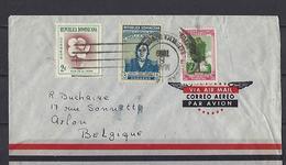Rép. Dominicaine: 1 Lettre Vers La Belgique - Dominicaine (République)