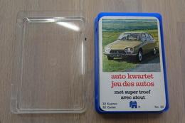 Speelkaarten - Kwartet, Auto, Jumbo, No. 85, *** - Vintage - Cartes à Jouer Classiques