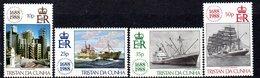 Tristan Da Cunha 1988 Handicrafts Set Of 4, MNH, SG 448/51 - Tristan Da Cunha