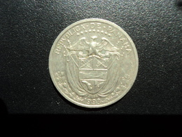 PANAMA : 1/4 De BALBOA   1993    KM 11a      SUP / TTB - Panama