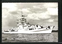 AK Fregatte Braunschweig Der Bundesmarine - Warships
