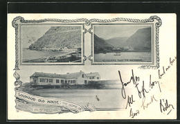 CPA St. Helena, Logwood Old House: The Home Of Napoleon, Wharf, Vue Générale From The Anchorage - Sainte-Hélène