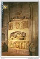 CPM.Castello D'empuries.sépulcres Des Comtes D'empuries En Albatre.ed:escudo De Oro Num 5 - Gerona