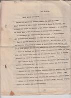 MILITARI FRONTE GUERRA 1915 / 1918 APPUNTI SERGENTE IN MISSIONE FERITO PAGG. 13 - Documents Historiques