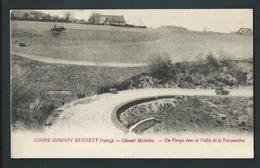 Sport Automobile. Coupe Gordon Bennett 1905. Circuit Michelin.  Un Virage Dans La Vallée De La Teissonnière. 2 Scans - Sport Automobile