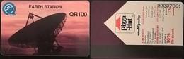 QATAR Autelca Magnetic___QR100 Earth Station / Pizza Hut___QTR-23 - Qatar