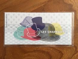 Souvenir Philatélique LES CHAPEAUX - 2018 - Y&T BS 147 - Neuf Sous Blister - Souvenir Blocks & Sheetlets