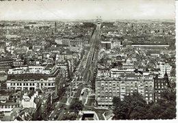 BRUXELLES-PANORAMA VERS LA BASILIQUE-NSTITUT SAINT LOUIS-HOTEL PALACE-BON MARCHE-CITROEN-TRAM-VADUC - Multi-vues, Vues Panoramiques