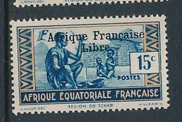 FRANCE AEF MAURY 141 MNH - A.E.F. (1936-1958)