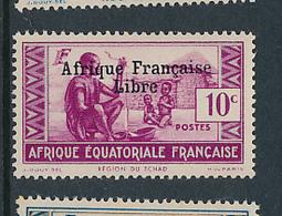 FRANCE AEF MAURY 140 MNH - Neufs