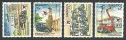 BARBADOS 1986 ELECTRICITY DIAMOND JUBILEE SET MNH - Barbados (1966-...)