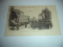 CP 08  -  Sedan , Manoeuvres De L'Est 1901 , Salut Au Drapeau - Sedan