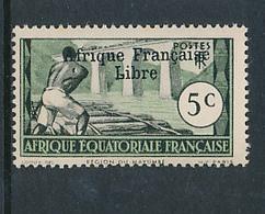 FRANCE AEF MAURY 139 MNH - A.E.F. (1936-1958)