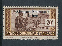FRANCE AEF MAURY 142 MNH - A.E.F. (1936-1958)