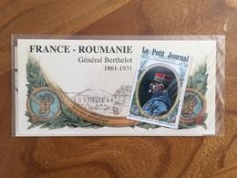 Souvenir Philatélique FRANCE ROUMANIE GENERAL BERTHELOT - 2018 - Y&T BS 150 - Neuf Sous Blister - Blocs Souvenir