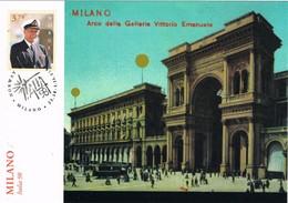 33661. Tarjeta Maxima NORUEGA 1998. Exposicion MILANO, Milan 98 - Noruega