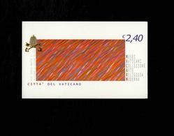 Città Del Vaticano 2004 Musei Vaticani Collezione Arte Religiosa Moderna  MNH**  Timbro Del Giorno Dell'emissione - 6. 1946-.. Repubblica