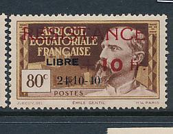 FRANCE AEF MAURY 175 MNH - A.E.F. (1936-1958)
