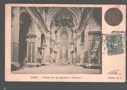 Roma - Chiesa Dei SS. Apostoli (Interno) - 1900 - Année Sainte 1900 - Kerken