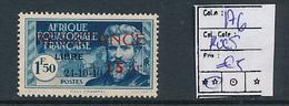 FRANCE AEF MAURY 176 MNH RUST ROUSSEUR - A.E.F. (1936-1958)